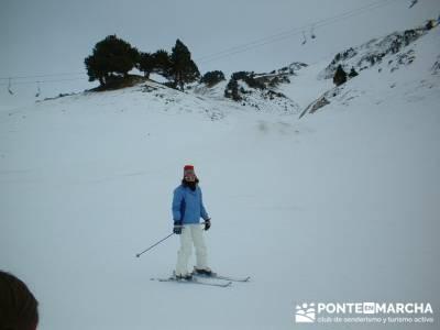 squí Baqueira - Aprende a esquiar; excursiones de fin de semana; viajes culturales por españa